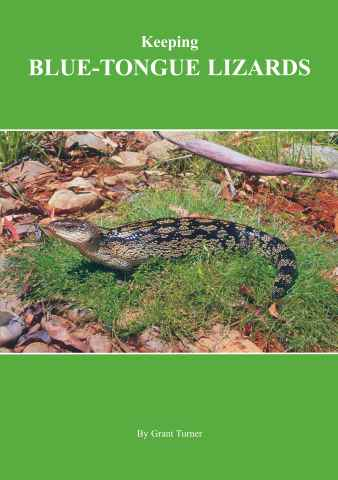 Reptile Publications issue Keeping Blue-tongue Lizards