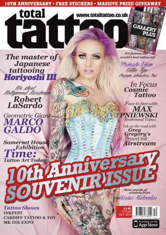 Total Tattoo issue October 2014