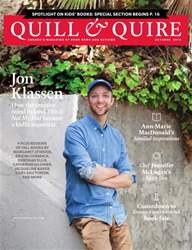 Quill & Quire issue OCTOBER 2014