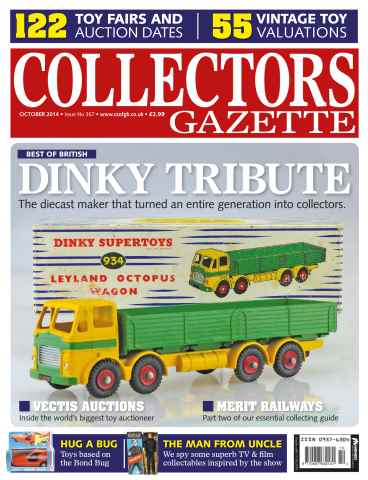 Collectors Gazette issue October Issue