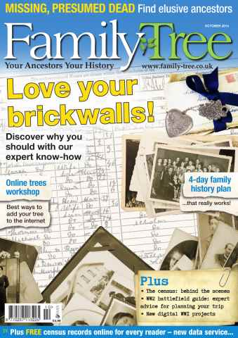 Family Tree issue Family Tree October 2014