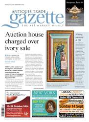 Antiques Trade Gazette issue ATG Issue 2157