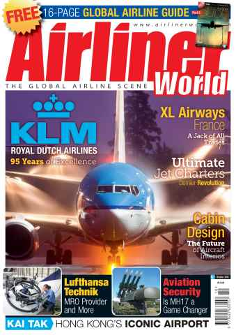 Airliner World issue October 2014