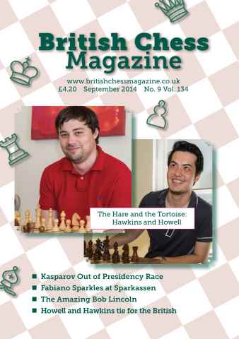 British Chess Magazine issue September 2014