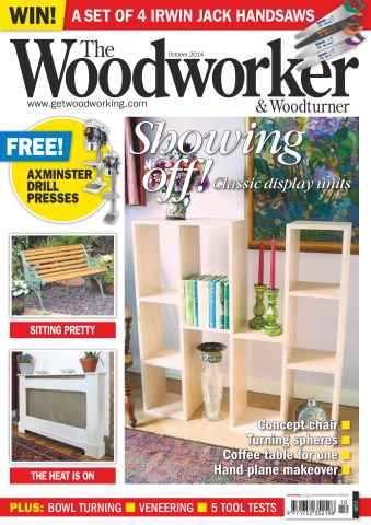 The Woodworker Magazine issue October 2014