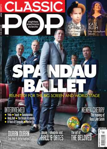 Classic Pop issue Oct/Nov 2014