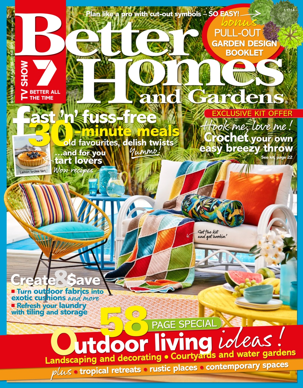 Better homes and gardens australia november 2014 Better homes and gardens current issue