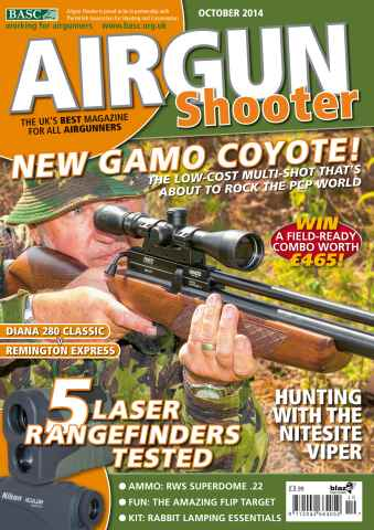 Airgun Shooter issue October 14