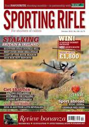 Sporting Rifle issue October 2014