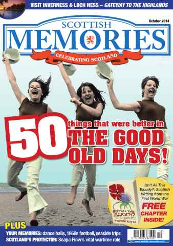 Scottish Memories issue October 2014