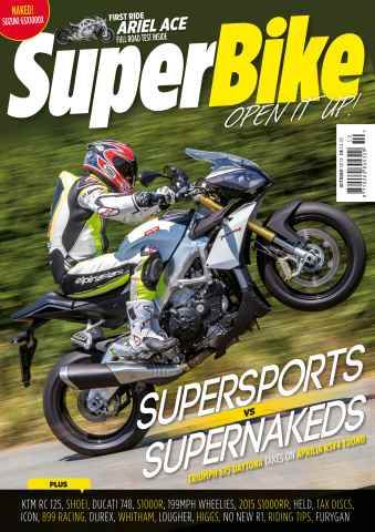 Superbike Magazine issue October 2014