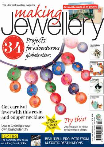 Making Jewellery issue September 2011