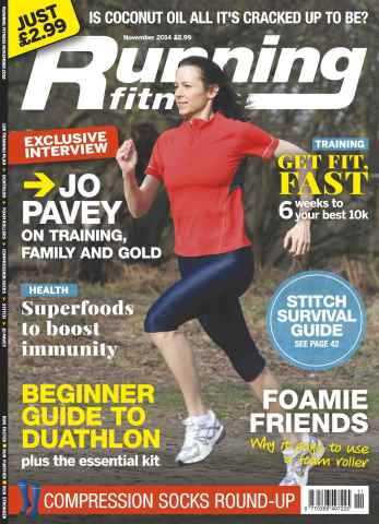 Running Fitness issue No.169 Jo Pavey - on training, family & Gold