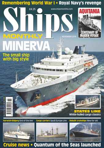 Ships Monthly issue No.599 Minerva - The small ship with big style