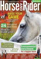 Horse&Rider Magazine - UK equestrian magazine for Horse and Rider issue Horse&Rider - November 2014