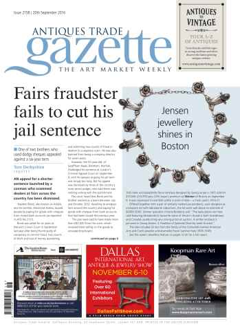 Antiques Trade Gazette issue ATG Issue 2158