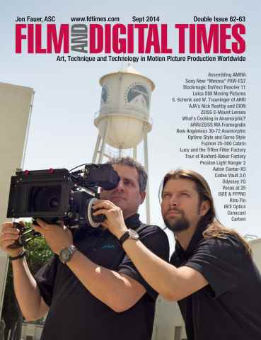 Film and Digital Times issue Sept 2014 Double Issue 62-63