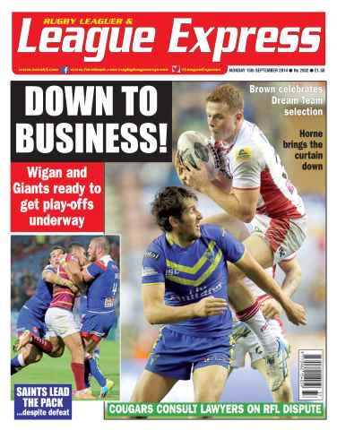 League Express issue 2932