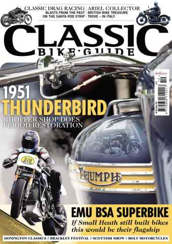 Classic Bike Guide issue October 2014