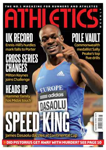 Athletics Weekly issue 18/09/2014