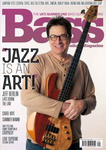 Bass Guitar issue 109 October 2014