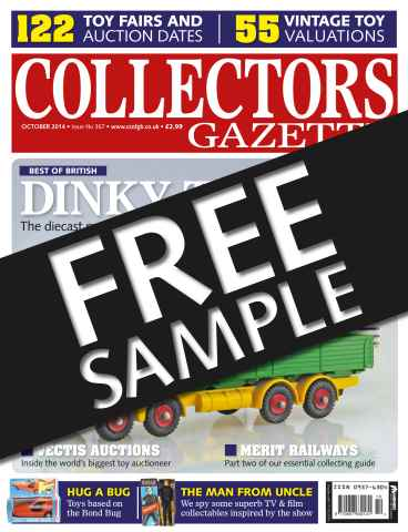 Collectors Gazette issue FREE SAMPLE ISSUE