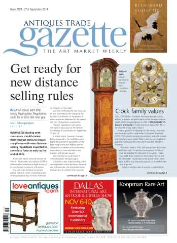 Antiques Trade Gazette issue ATG Issue 2159