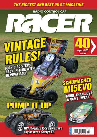 Radio Control Car Racer issue Nov-14