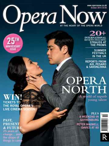 Opera Now issue October 2014