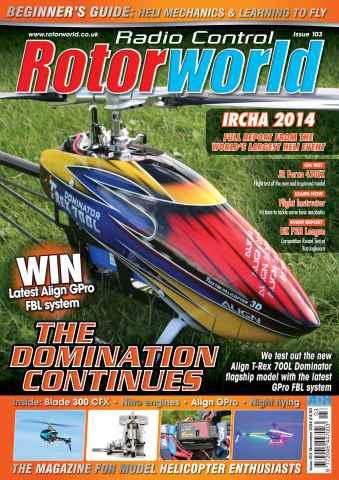 Radio Control Rotor World issue Nov-14