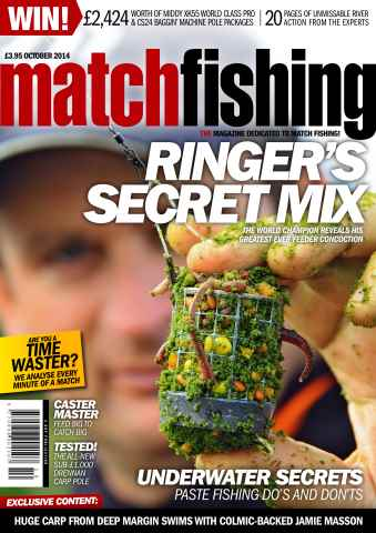 Match Fishing issue Oct-14