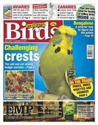 Cage & Aviary Birds issue No.5822 Challenging Crests