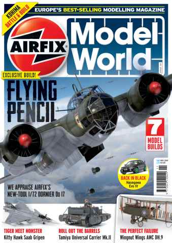 Airfix Model World issue November 2014