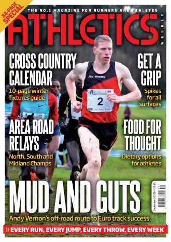 Athletics Weekly issue 25/09/2014