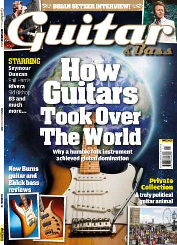 Guitar & Bass Magazine issue Nov-14