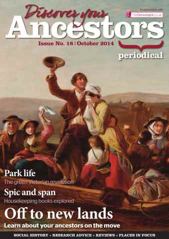 Discover Your Ancestors issue October 2014