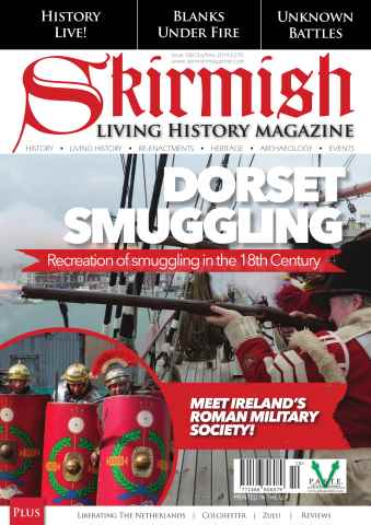 Skirmish Living History issue Skirmish Magazine Issue 108