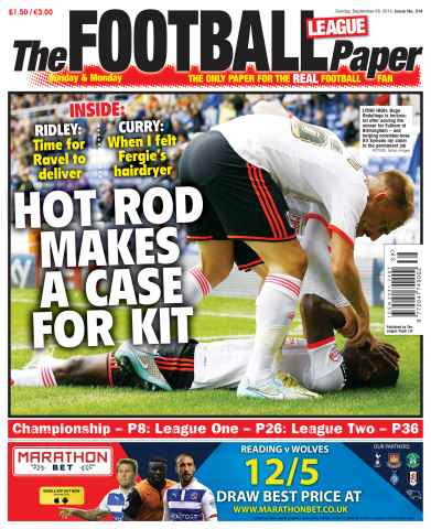 The Football League Paper issue 28th September 2014