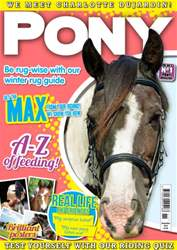 Pony Magazine issue November 2014 - PONY Magazine