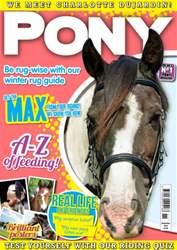 Pony Magazine issue November 2014 - PONY Magazine