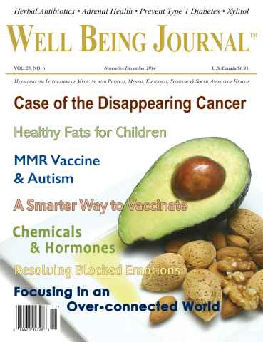 Well Being Journal issue November/December 2014