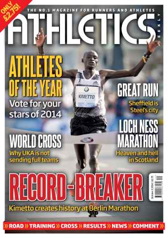 Athletics Weekly issue 02/10/2014