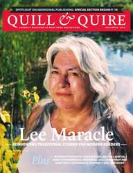 Quill & Quire issue NOVEMBER 2014