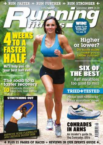 Running Fitness issue The 4-Week Fast Half Plan Sep 11