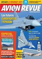 Avion Revue Internacional España issue Número 350 Agosto 2011