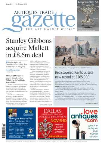 Antiques Trade Gazette issue ATG Issue 2161