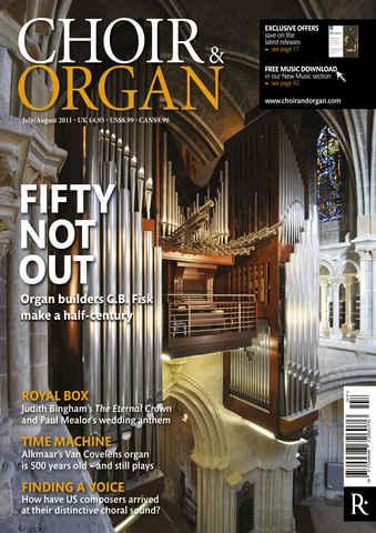 Choir & Organ issue July-Aug 2011