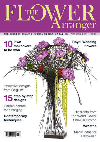 The Flower Arranger issue Autumn 2011