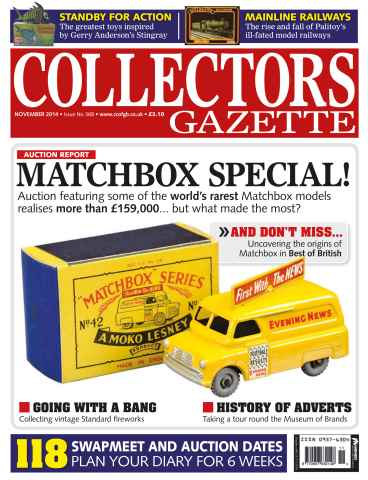 Collectors Gazette issue November Issue
