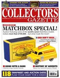 Collectors Gazette issue November Issue